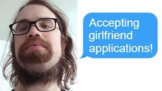 "r/Choosingbeggars ""Accepting Girlfriend Applications!"" Funny Reddit Posts"