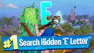 Search hidden 'E' found in the Dive Loading Screen - Fortnite Battle Royale