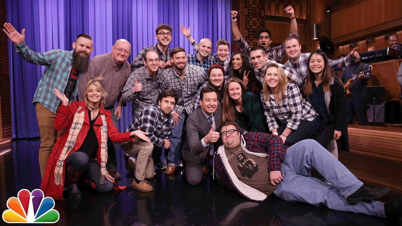 Jimmy Celebrates Plaid Night on The Tonight Show thumbnail