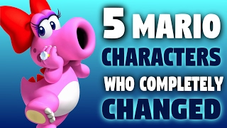 5 Mario Characters Who Have Completely Changed