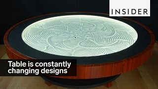 This table is constantly changing designs