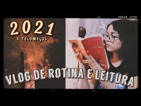 vlog de leitura e rotina // ano novo, primeiro livro de 2021, três filmes e harry styles