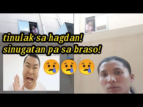 Pinay OFW sa bansang SAUDI minamaltrato na nga sinusugatan, pinapagutuman pa! 😥😥😥 (my reaction)
