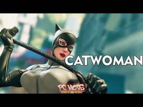 SFV:AE - Poison as Catwoman, Lucia as Harley, Kage as Asura and Abi as Rhino!! (PC Best Mods)