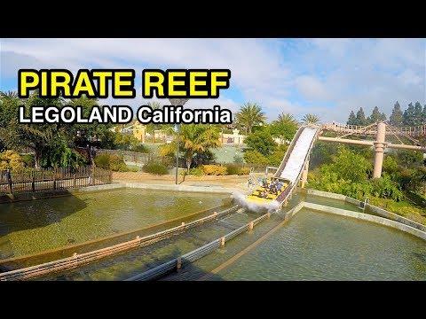 [4K] Pirate Reef - Legoland California