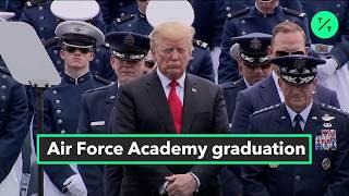 Trump Addresses U.S. Air Force Academy Graduates