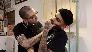 NECK TATTOOS HURT!!!