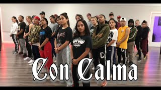 Daddy Yankee & Snow   Con Calma | Official Video Rehearsal | Greg Chapkis Choreography