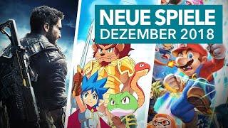 Release-Vorschau: Dezember 2018 - Neue Spiele für PS4, Xbox One & Switch