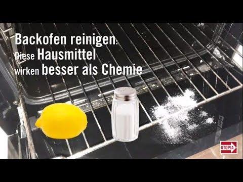 Backofen reinigen: Diese Hausmittel wirken besser als Chemie