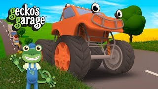 5 Big Trucks Song | Gecko's Garage | Songs For Children