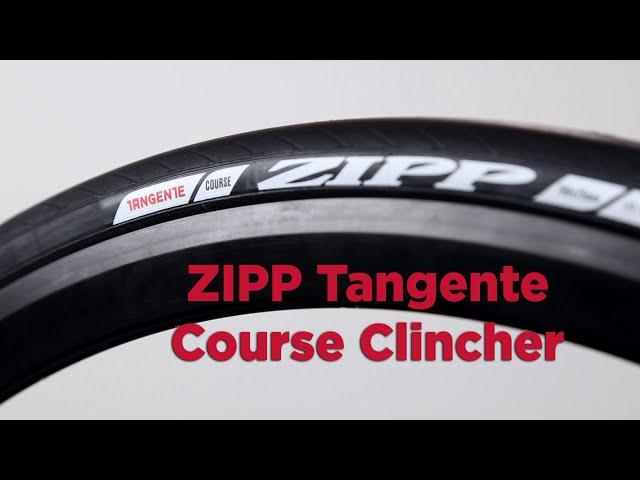 Видео Покрышка Zipp Tangente Course Clincher Puncture Resistant 700x28c
