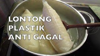 Lontong Plastik - Cara Membuat Lontong Plastik Anti Gagal ~ Boil-in-the-Bag Rice Cake II CLK