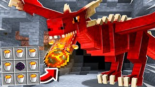 7 New Ways to Craft with LAVA in Minecraft!