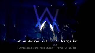 Alan Walker - I Don't Wanna Go