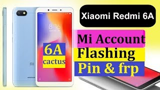 REDMI 6A MI ACCOUNT RESET FRP BYPASS TOOL FASTBOOT MODE FREE