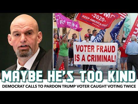 Democrat Calls To Pardon Trump Voter Caught Voting Twice