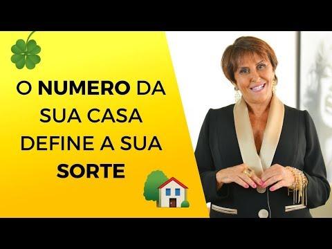 O número de onde você mora define a sua SORTE!! Numerologia da casa por Márcia Fernandes