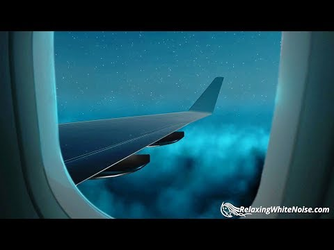 Airplane White Noise in 1st Class | Sleep, Study, Focus | 10 Hour Plane Sound