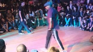 preview picture of video 'L'eto vs Jimmy - 1/8ème de final HipHop - Battle de Bondy 2014'