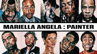 Young Painter Immortalizes Hip Hop Artists On Canvas