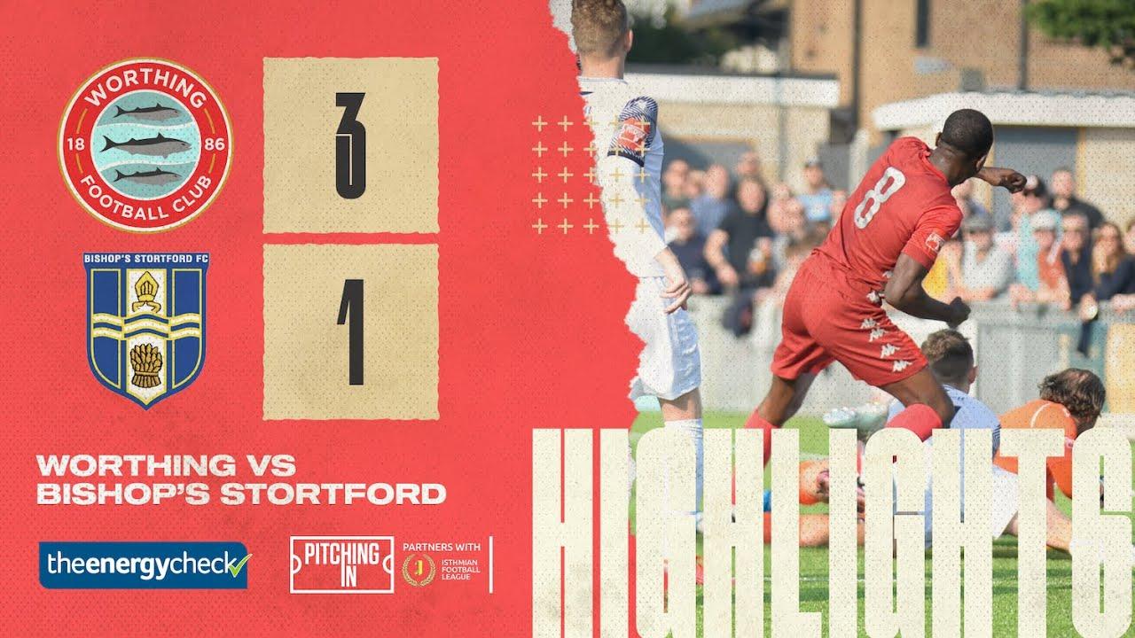 Thumbnail for Highlights: Worthing 3-1 Bishop's Stortford