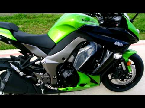 Overview and Review of the 2012 Kawasaki Ninja 1000 ABS Candy Lime Green and Black