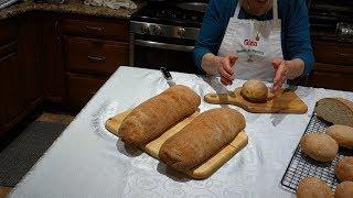 Italian Grandma Makes Homemade Bread