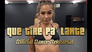Daddy Yankee Que Tire Pa' Lante | Official Music Video Dance Scene Directed By Greg Chapkis