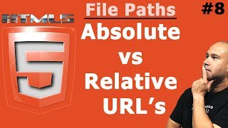 HTML File Paths   Absolute vs Relative URLs   Tutorial for Beginners