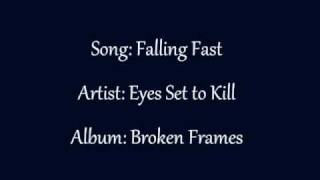 Falling Fast Eyes Set to Kill Lyrics