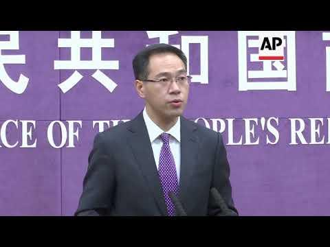 China calls on US to