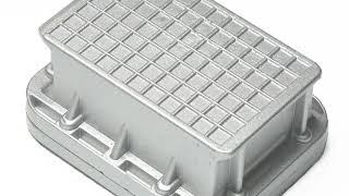 Road Stud - Solar - Aluminium - 10.9 x 8.4 x 2.5cm - 385g #D1790398