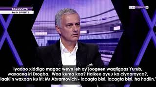 "Mourinho on buying Drogba: ""Mr Abramovich pay! Pay and don't speak!"""