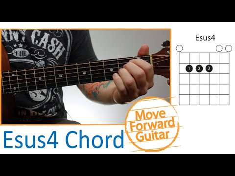 Guitar Chords for Beginners - Esus4