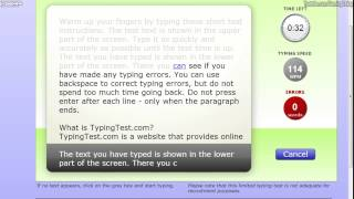 Typing Test: Can You Beat Me?