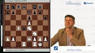 Aronian-Caruana, Berlin Candidates 2018 Round 7 Recap with Peter Svidler