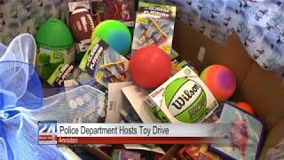Anniston Police Collecting Toys for Less Fortunate Children