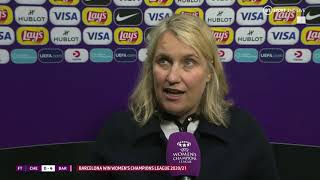 """""""The players gave it everything!"""" 💙 Hayes reacts as Chelsea lose Women's Champions League final"""