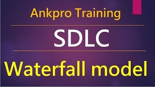 Manual testing 2 - What is Software development life cycle (SDLC)? What is waterfall SDLC model?