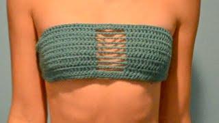 Crochet Bandeau Bikini Tutorial
