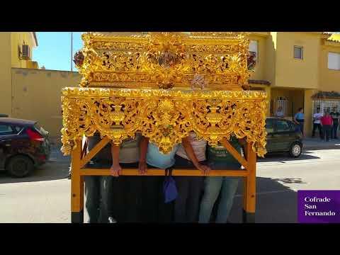 Afligidos y Huerto ensayan con sus pasos el discurrir por Cádiz