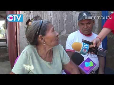 Anciana recibe con emoción su vivienda digna y segura