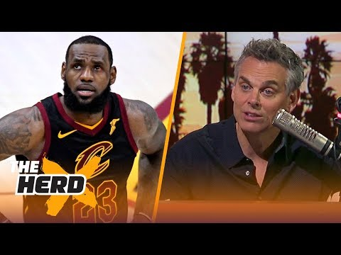 Colin Cowherd on LeBron James before Game 4 of the 2018 NBA Finals | NBA | THE HERD