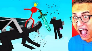 Reacting To WORLD'S CRAZIEST STICK FIGHT ANIMATION!