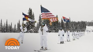 Meet The Skiing Soldiers Of The 10th Mountain Division   TODAY