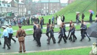 preview picture of video 'Remembrance Day Parade 2011, York, England.'