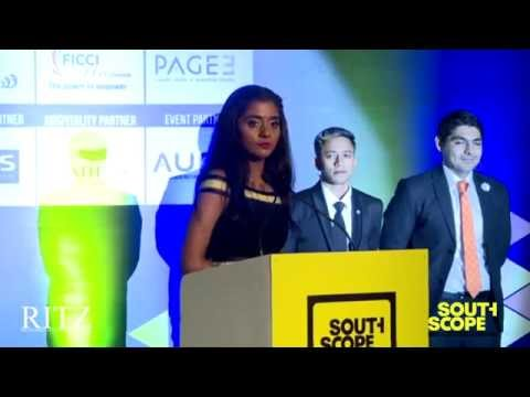 Aruna R Krishnan speaks at The RITZ presents SouthScope Lifestyle Awards