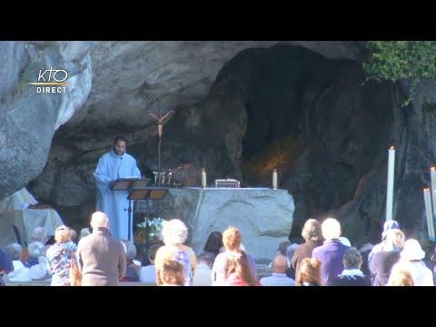 Messe du 3 septembre 2020 à Lourdes