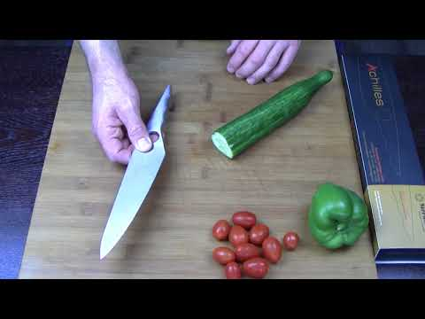 STERNSTEIGER Achilles 8″ Chef Knife review